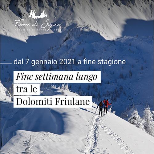 Fine settimana Dolomiti sci